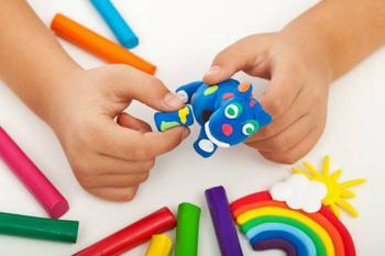 Делаем съедобный пластилин для детей