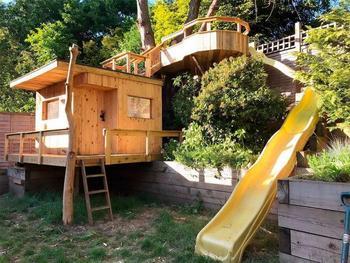 Деревянный игрушечный дом мечты для детей