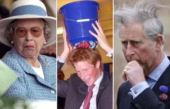 Они же тоже люди: курьёзные фото королевской семьи