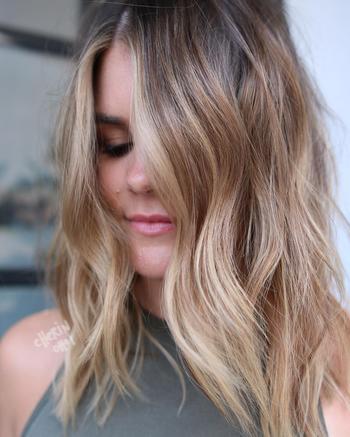 Красивые прически на средние тонкие волосы