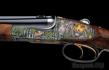 10 роскошных ружей от известных мастеров, каждое из которых стоит баснословные суммы