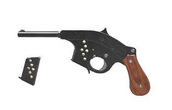 Как появился и почему не пошёл в серию кривой пистолет Гамильтона