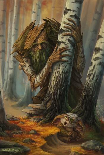Лесной хозяин - леший