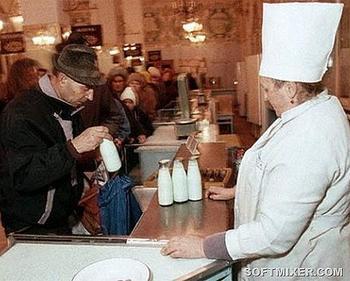 Советское молоко и молочные продукты
