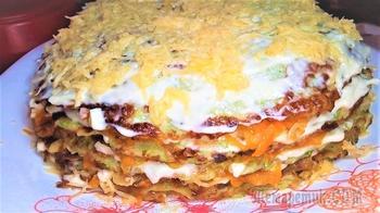 Торт из кабачка