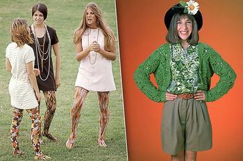 Экскурс в ужасные тренды прошлого: от «хромающей» юбки до собачки-аксессуара