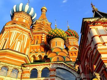 Собор Василия Блаженного - символ России.