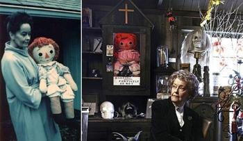 Кукла Анабель: реальная история