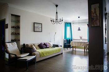 Трехкомнатная квартира на Городецкой с уборной как в одесском ресторане
