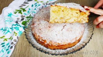 Потрясающий пирог с яблоками Шарлатанка! Выручает, когда лень печь пирожки!