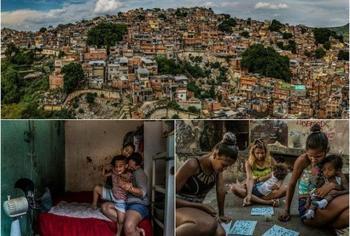 30 печальных фото с прогулки по трущобам Рио-де-Жанейро