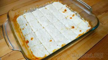 Десерт без вреда для талии! Всего 3 продукта – без муки, соды и разрыхлителя!