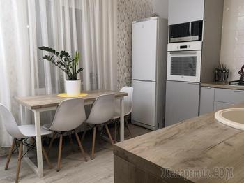Сделали классную кухню своими руками всего за 2000 рублей