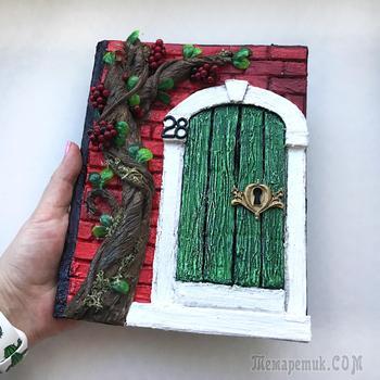 DIY Декор блокнота | Как сделать декор из картона | Простая идея из картона