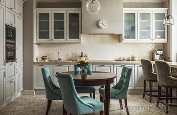 Красивый интерьер трехкомнатной квартиры