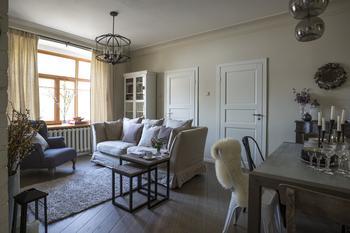 Светлая квартира с «проходной» комнатой в Москве