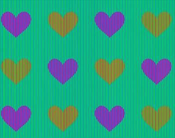 А вы угадаете, какого цвета сердечки на картинке?