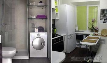 Дельные идеи по обустройству маленькой квартиры, с которыми не придется спрашивать совета у дизайнеров