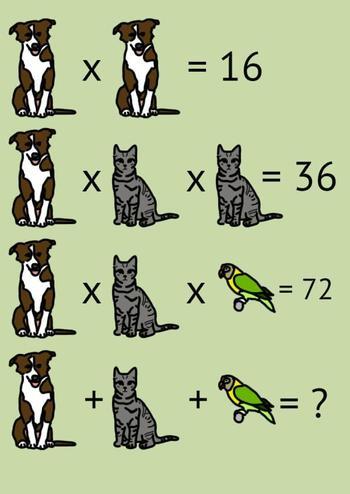 Веселые математические задачки, которые помогут размять мозг