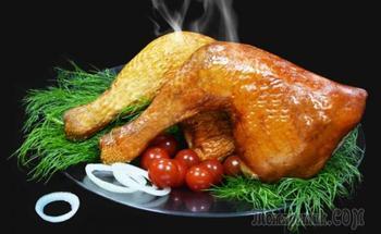 Как закоптить курицу