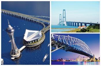 10 самых длинных мостов мира, каждый из которых можно назвать инженерным чудом