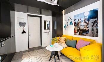 Просто «конфетка»: Квартира площадью всего 16 кв. м, в которой есть все для комфортной жизни