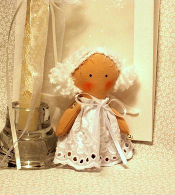Мастер-класс «Маленький ангел своими руками»