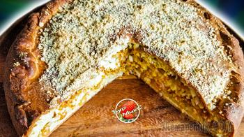 Вкуснейший татарский пирог - Губадия с кортом