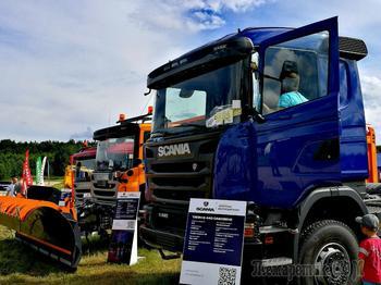 Scania на службе лесорубов