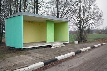Суровое очарование советских автобусных остановок