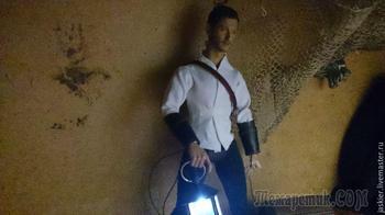 Мастерим для кукольного домика светящийся фонарь в миниатюре