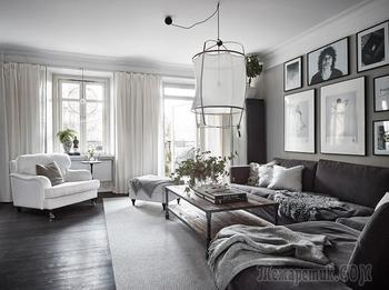 Фотоохота: скандинавский минимализм в фото – дизайн трёшки