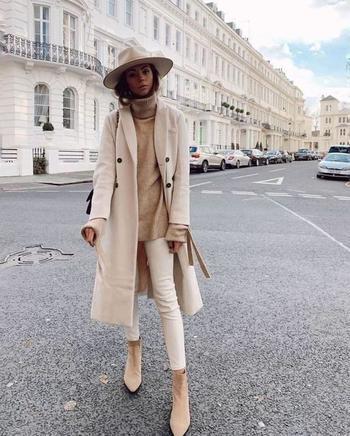 Главные цвета для дорогого зимнего гардероба