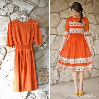 Дизайнер-любитель превращает старую одежду в современные наряды для себя и дочерей