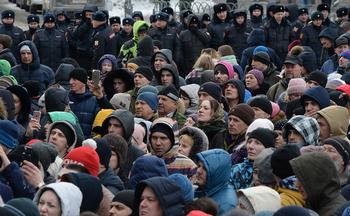 Почти 90% россиян заявили о нежелании участвовать в любых протестах