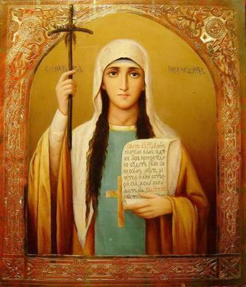 Равноапостольная святая Нина, просветительница Грузии: икона, молитва и монастырь