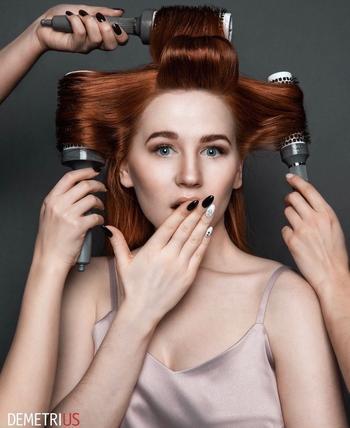 18 великолепных вариантов объемных укладок на средние волосы