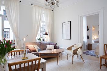 Светлая и уютная квартира 43 кв. метра