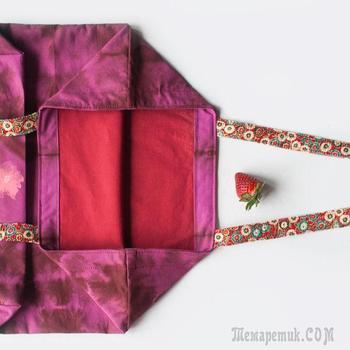 Мастер-класс: как сшить красивую эко-сумку с подкладкой