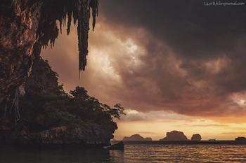 Краби. Полуостров Рейли в фотографиях