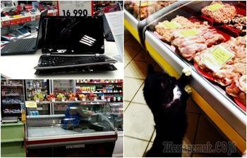 Забавные ситуации  в супермаркетах