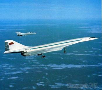 Десять интересных фактов о сверхзвуковом Ту-144