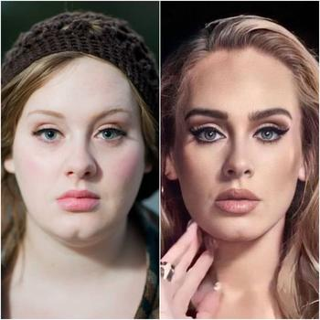 Сравнительные фото звёзд в стиле «до и после», на которых они худеют, толстеют и делают пластику