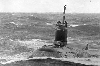 """627 проект""""Кит"""". К3 - первая атомная подводная лодка СССР"""
