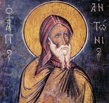 Как относился святой Антоний Великий к расколу и ересям?