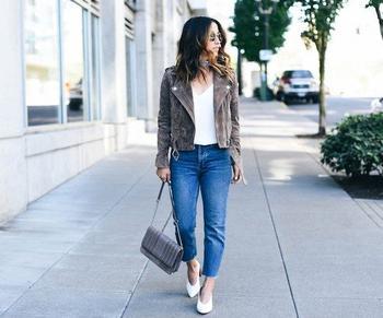 Как модно носить джинсы-бананы?