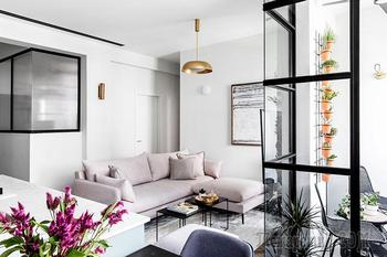 Искусство дизайна компактного жилья: современная квартира в Тель-Авиве