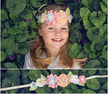 Цветочная корона для девочки своими руками