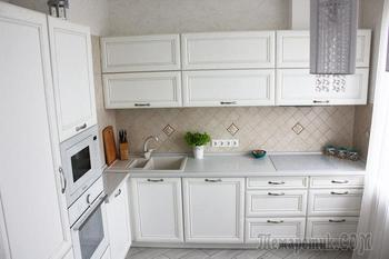 Моя кухня: компактная белизна