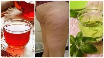Эти 6 напитков из трав помогут бороться с целлюлитом